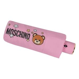 Зонт складной Moschino 8211-compactN Toy Stars Pink фото-5