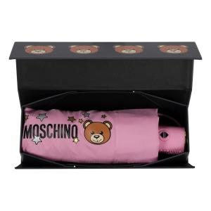 Зонт складной Moschino 8211-compactN Toy Stars Pink фото-6