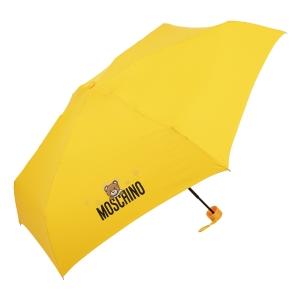 Зонт складной Moschino 8042-superminiU Shadow Bear Yellow фото-2