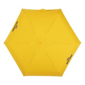 Зонт складной Moschino 8042-superminiU Shadow Bear Yellow фото-3