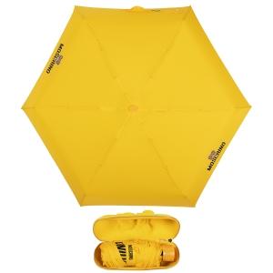 Зонт складной Moschino 8042-superminiU Shadow Bear Yellow фото-1