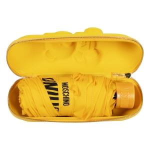 Зонт складной Moschino 8042-superminiU Shadow Bear Yellow фото-4