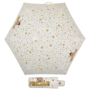 Зонт складной Moschino 8323-compactI Toy Constellation Cream фото-1