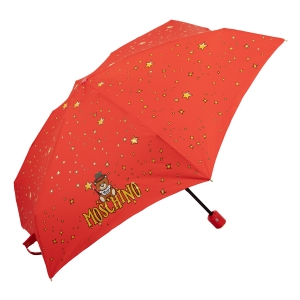 Зонт складной Moschino 8323-compactC Toy Constellation Red фото-2