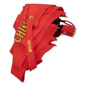 Зонт складной Moschino 8323-compactC Toy Constellation Red фото-4