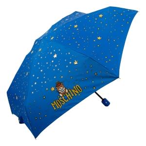 Зонт складной Moschino 8323-compactF Toy Constellation Sky blue фото-2
