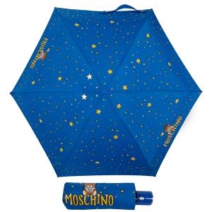Зонт складной Moschino 8323-compactF Toy Constellation Sky blue фото-1