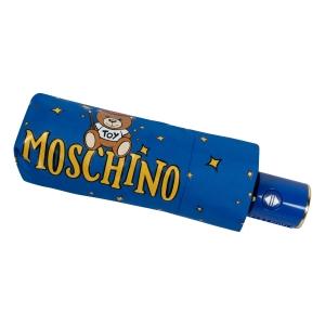 Зонт складной Moschino 8323-compactF Toy Constellation Sky blue фото-5