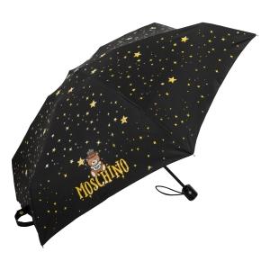 Зонт складной Moschino 8323-compactA Toy Constellation Black фото-2