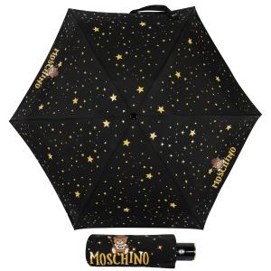 Зонт складной Moschino 8323-compactA Toy Constellation Black фото-1