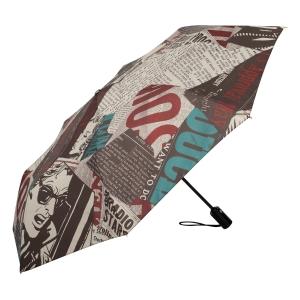 Зонт складной Moschino 8027-OCA Speak Moschino Multi фото-2