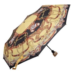 Зонт складной Moschino 8036-OCA Belts Bear Multi фото-2
