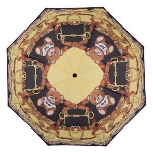 Зонт складной Moschino 8036-OCA Belts Bear Multi фото-3