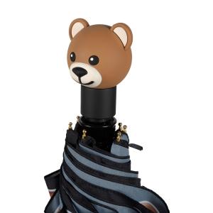 Зонт складной Moschino 8036-OCA Belts Bear Multi фото-4