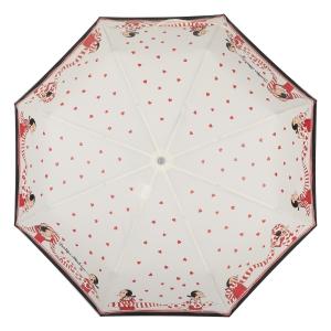 Зонт складной Moschino 7961-OCI Olivia Scarves Cream фото-3