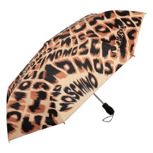 Зонт складной Moschino 8562-OCE Animal Brown фото-2