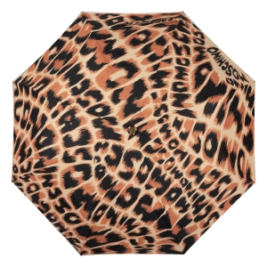 Зонт складной Moschino 8562-OCE Animal Brown фото-3