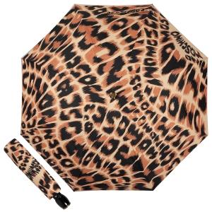 Зонт складной Moschino 8562-OCE Animal Brown фото-1