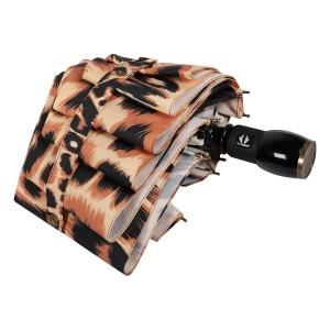Зонт складной Moschino 8562-OCE Animal Brown фото-4