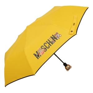 Зонт складной Moschino 8031-OCU Toy Band Yellow фото-3