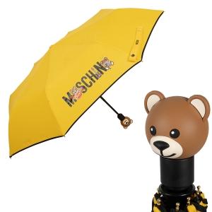 Зонт складной Moschino 8031-OCU Toy Band Yellow фото-1