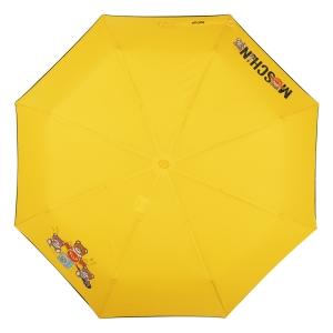 Зонт складной Moschino 8031-OCU Toy Band Yellow фото-2
