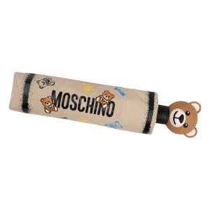 Зонт складной Moschino 8033-OCD Toy Spray Dark beige фото-5