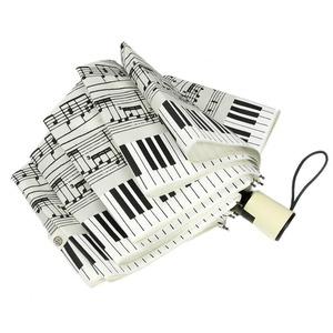 Зонт складной Emme M392-OC Love Piano Beige фото-2