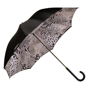 Зонт-трость Ferre 1655-LM Animal  Black  Atlas фото-3