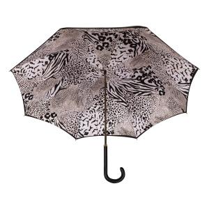 Зонт-трость Ferre 1655-LM Animal  Black  Atlas фото-4