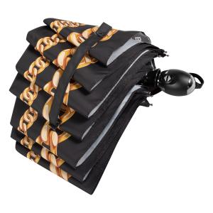 Зонт складной Baldinini 42-OC Catena Gold New фото-4