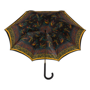 Зонт-трость Ferre 1655-LM Birds Black  Atlas фото-4