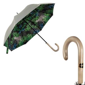 Зонт-трость Baldinini 49-LA Tropic Grigio фото-1