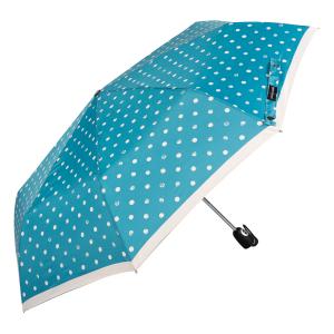 Зонт складной Pierre Cardin 82297-OC Blue Dots Crema фото-2