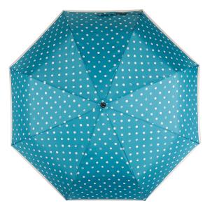 Зонт складной Pierre Cardin 82297-OC Blue Dots Crema фото-3