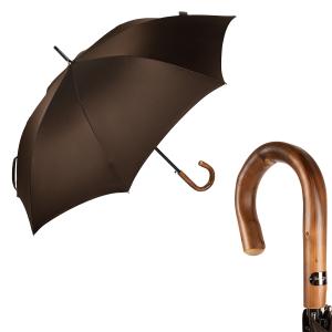 Зонт-трость Bugatti 218355-LA Oxford Brown Legno фото-1