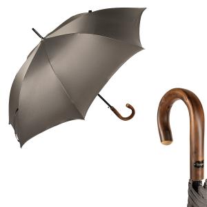 Зонт-трость Bugatti 218354-LA Oxford Gray Legno фото-1