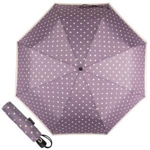 Зонт складной Pierre Cardin 82297-OC Lilac  Dots Crema фото-1