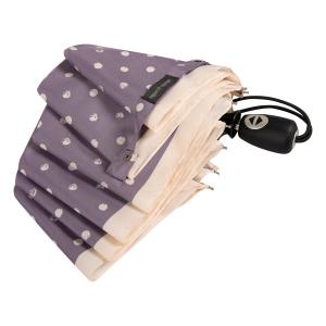Зонт складной Pierre Cardin 82297-OC Lilac  Dots Crema фото-4
