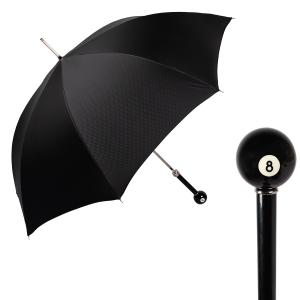 Зонт-трость Pasotti Biliardo Grono Black фото-1