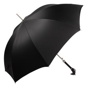 Зонт-трость Pasotti Cavallo Oxford Black фото-4