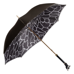 Зонт-трость Pasotti Becolore Beige Procione Lux фото-4