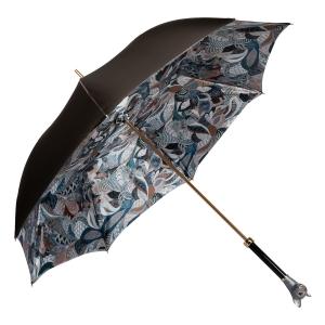 Зонт-трость Pasotti Becolore Biege Petalo Cat Lux фото-4