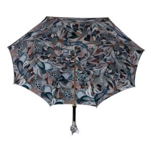 Зонт-трость Pasotti Becolore Biege Petalo Cat Lux фото-5