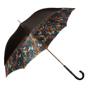 Зонт-трость Pasotti Becolore Biege Butterfly Original фото-3