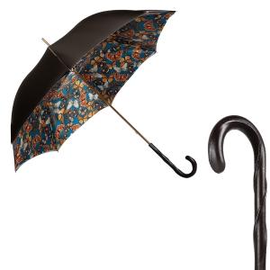 Зонт-трость Pasotti Becolore Biege Butterfly Original фото-1