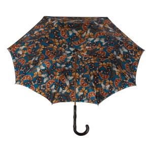 Зонт-трость Pasotti Becolore Biege Butterfly Original фото-4