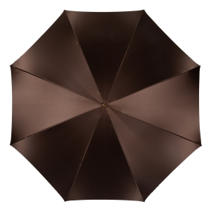 Зонт-трость Pasotti Marrone Lettere Globe Legno фото-2