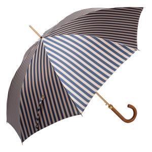 Зонт-трость Pasotti Uno StripesL Blu/Beige Legno фото-3
