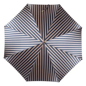 Зонт-трость Pasotti Uno StripesL Blu/Beige Legno фото-2